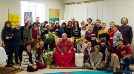Namkhai Norbu Rinpoche a Milano - The Mirror